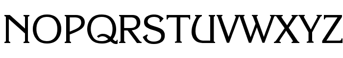 Enchanted Font UPPERCASE