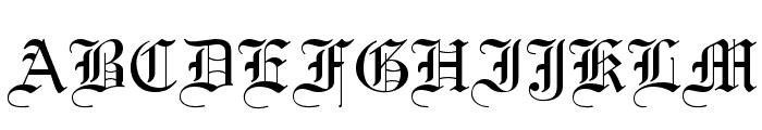England Normal Font UPPERCASE