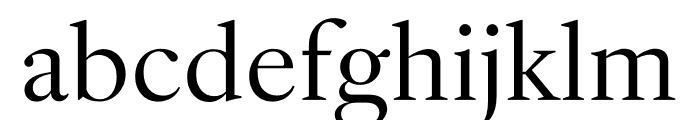 English 1766 Light Font LOWERCASE