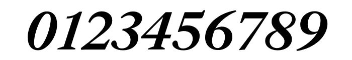 English 1766 Medium Italic Font OTHER CHARS
