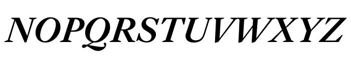English 1766 Medium Italic Font UPPERCASE