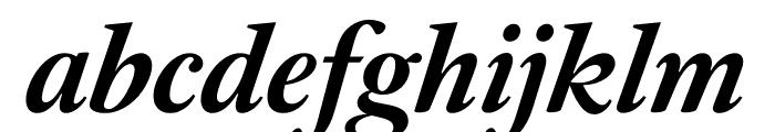 English 1766 Medium Italic Font LOWERCASE