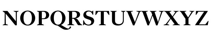 English 1766 Medium Font UPPERCASE