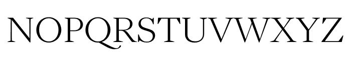 English 1766 Thin Font UPPERCASE