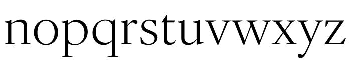 English 1766 Thin Font LOWERCASE