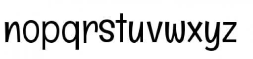 Englebert Pro Font LOWERCASE
