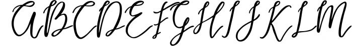 Endestry Modern Calligraphy Font UPPERCASE