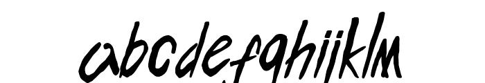 ENDLESS BUMMER Font LOWERCASE