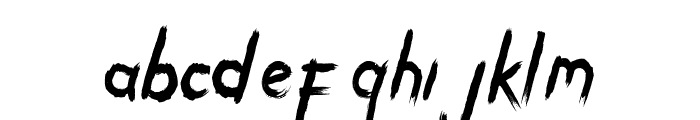 ENERGY OF ASIA Font LOWERCASE
