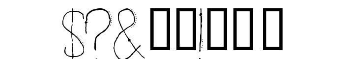 ENTIA Regular Font OTHER CHARS