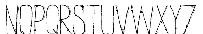 ENTIA Regular Font UPPERCASE