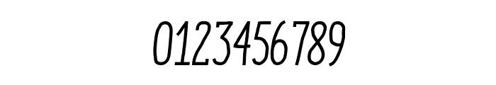 ENYO Serif Medium Italic Font OTHER CHARS