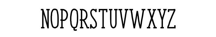 ENYO Serif Medium Font UPPERCASE