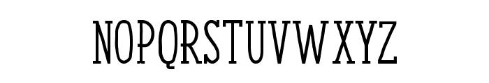 ENYOSerifMedium Font UPPERCASE