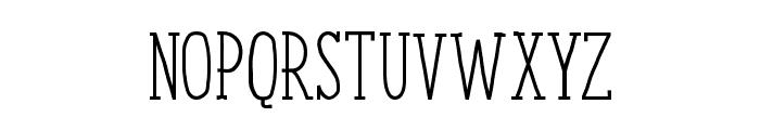 ENYOSerifRegular Font UPPERCASE