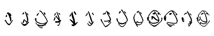 EnFace Font UPPERCASE
