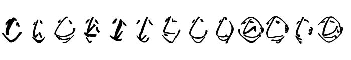 EnFace Font LOWERCASE