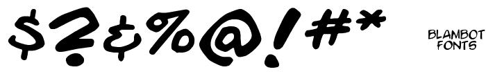 Enchilada Font OTHER CHARS