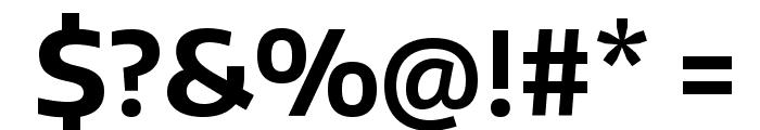Encode Sans Bold Font OTHER CHARS