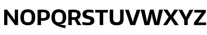 Encode Sans Bold Font UPPERCASE