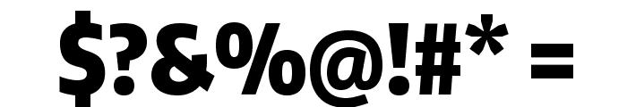 Encode Sans Compressed Black Font OTHER CHARS
