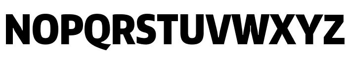 Encode Sans Compressed Black Font UPPERCASE