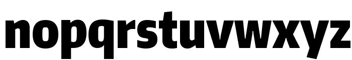 Encode Sans Compressed Black Font LOWERCASE