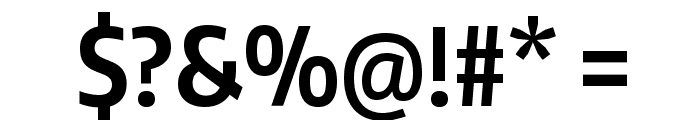 Encode Sans Compressed Bold Font OTHER CHARS