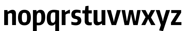 Encode Sans Compressed Bold Font LOWERCASE