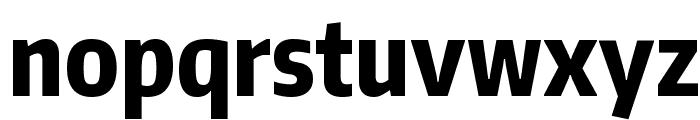 Encode Sans Compressed ExtraBold Font LOWERCASE