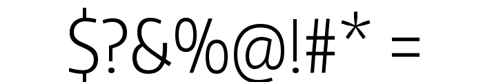 Encode Sans Compressed Light Font OTHER CHARS