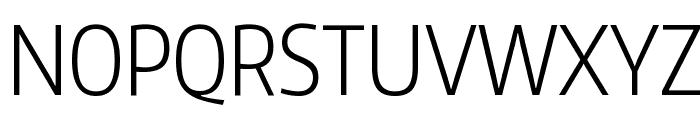 Encode Sans Compressed Light Font UPPERCASE