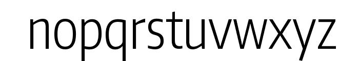 Encode Sans Compressed Light Font LOWERCASE