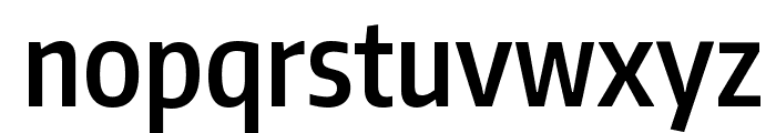 Encode Sans Compressed SemiBold Font LOWERCASE