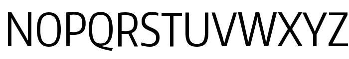 Encode Sans Compressed Font UPPERCASE