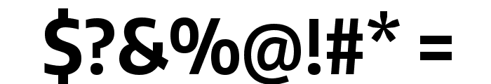 Encode Sans Condensed Bold Font OTHER CHARS