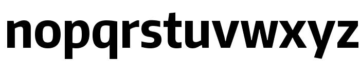 Encode Sans Condensed Bold Font LOWERCASE