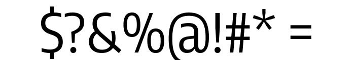 Encode Sans Condensed Regular Font OTHER CHARS