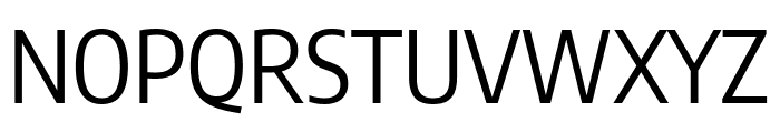 Encode Sans Condensed Regular Font UPPERCASE