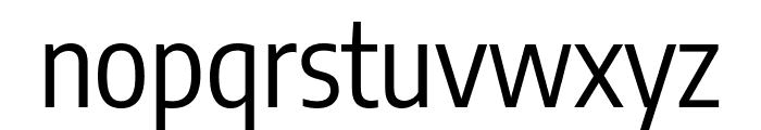 Encode Sans Condensed Regular Font LOWERCASE