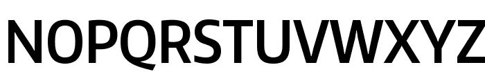 Encode Sans Condensed SemiBold Font UPPERCASE