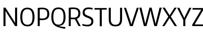 Encode Sans Condensed Font UPPERCASE