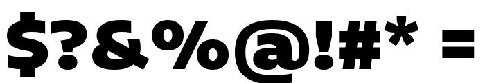 Encode Sans Expanded Black Font OTHER CHARS