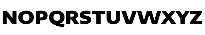 Encode Sans Expanded Black Font UPPERCASE