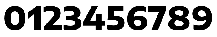 Encode Sans Expanded ExtraBold Font OTHER CHARS