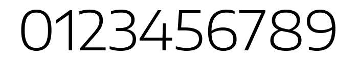 Encode Sans Expanded Light Font OTHER CHARS