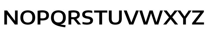 Encode Sans Expanded SemiBold Font UPPERCASE