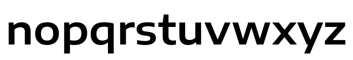 Encode Sans Expanded SemiBold Font LOWERCASE