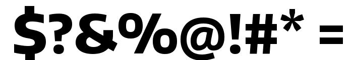 Encode Sans ExtraBold Font OTHER CHARS