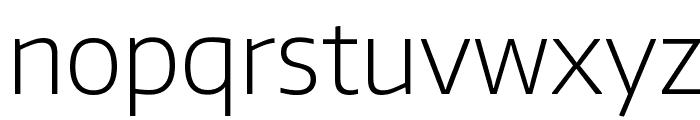 Encode Sans ExtraLight Font LOWERCASE